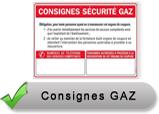 Consignes Gaz